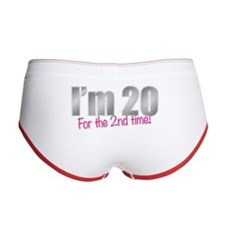 20 2nd Time 40th Birthday Women's Boy Brief