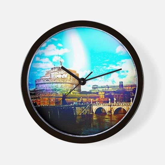 Rom/Rome effect Wall Clock