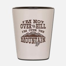 Over the Mountain Shot Glass