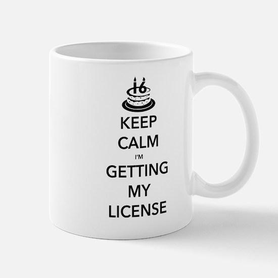 Keep Calm Sweet 16 Mug
