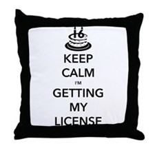 Keep Calm Sweet 16 Throw Pillow