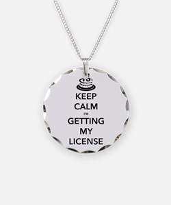 Keep Calm Sweet 16 Necklace