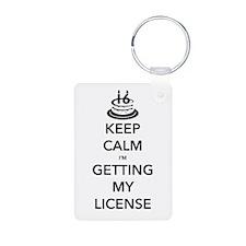 Keep Calm Sweet 16 Keychains