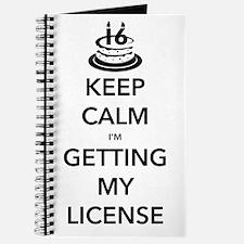 Keep Calm Sweet 16 Journal