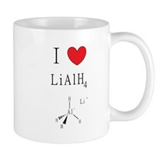 I Heart (icon) Lithium Aluminum Hydride Mugs