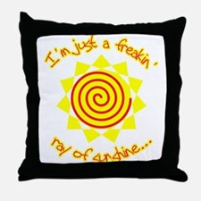 For when you're feelin sunny... or not Throw Pillo