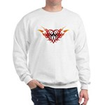 Winged heart tattoo Sweatshirt