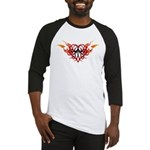 Winged heart tattoo Baseball Jersey
