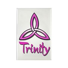 Trinity Symbol Rectangle Magnet