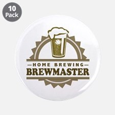"""Brewmaster Home Beer Brewer 3.5"""" Button (10 pack)"""