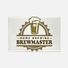 Brewmaster Home Beer Brewer Magnets