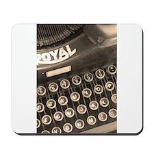 Old Typewriter Mousepad