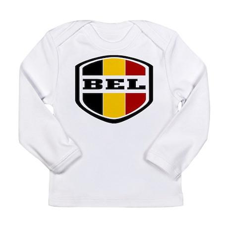 WC14 BELGIUM Long Sleeve T-Shirt