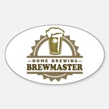 Brewmaster Home Beer Brewer Decal