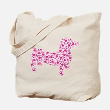 Doxie Hearts Tote Bag