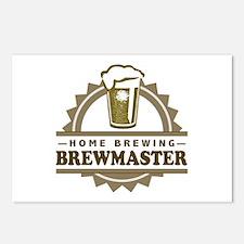 Brewmaster Home Beer Brewer Postcards (Package of