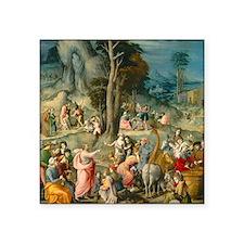 "Bacchiacca - The Gathering  Square Sticker 3"" x 3"""
