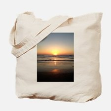 Florida Sunrise Over The Atlantic Tote Bag