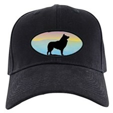 Seaside Schipperke Baseball Hat