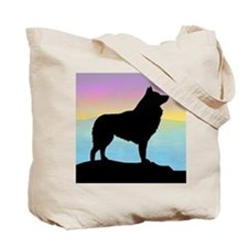 Seaside Schipperke Tote Bag