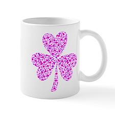 Shamrock Heart Design Mug