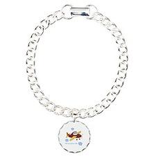 Personalized Airplane Bracelet