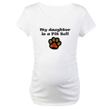 My Daughter Is A Pit Bull Shirt
