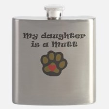 My Daughter Is A Mutt Flask