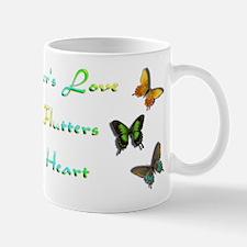 Mothers Love Butterflies Mug