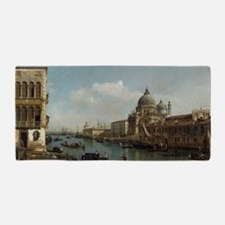 Bernardo Bellotto - View of the Grand  Beach Towel