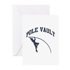 Pole Vault Greeting Cards (Pk of 10)