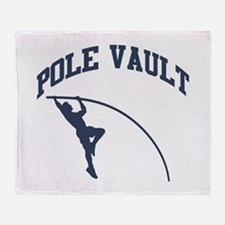Pole Vault Throw Blanket