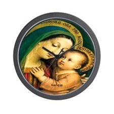 Our Lady of Good Counsel Wall Clock