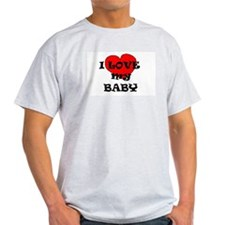 I HEART MY BABY MATERNITY TEES T-Shirt
