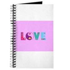 Cute LOVE with Hearts Journal