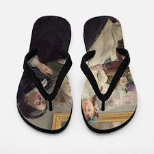 Berthe Morisot - The Mother and Sister  Flip Flops