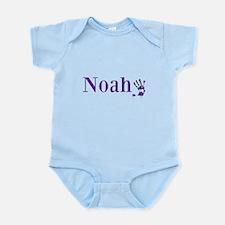 Purple Noah Name Body Suit
