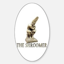 The shroomer Oval Decal