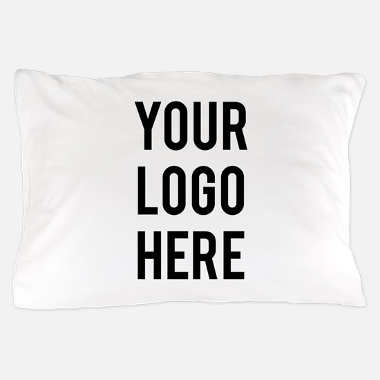 Custom Company Logo Pillow Case