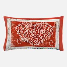 Art To Heart Star. Pillow Case
