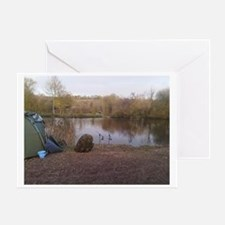 Carping Heaven Greeting Card
