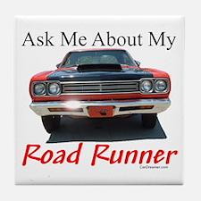 Road Runner Tile Coaster