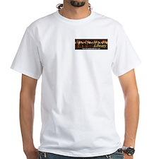 White Forbidden Library Censorship T-Shirt
