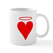 Red Heart Angel Mugs