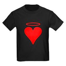 Red Heart Angel T-Shirt