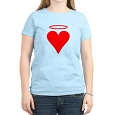 Red Heart Angel T-Shirt