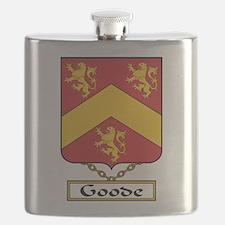 Goode Family Crest Flask