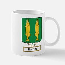 Hamm Family Crest Mugs