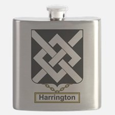 Harrington Family Crest Flask