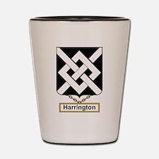 Harrington Family Crest Shot Glass